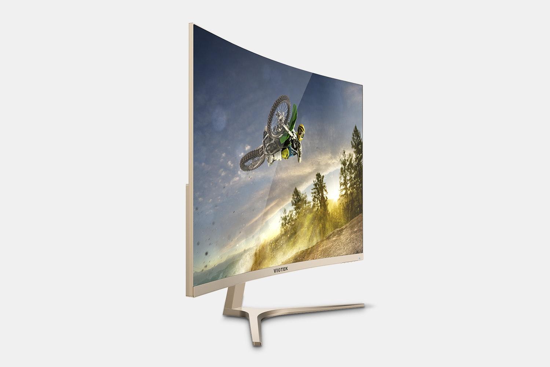 Viotek 32-Inch WQHD 144Hz 1440p Curved Monitor