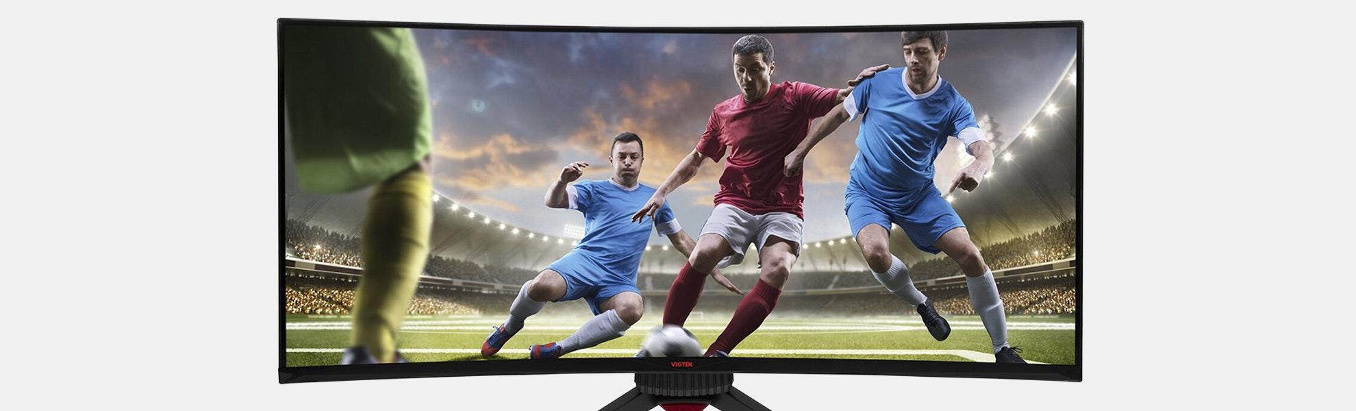Viotek 35-Inch 144Hz 1800R Curved Gaming Monitor