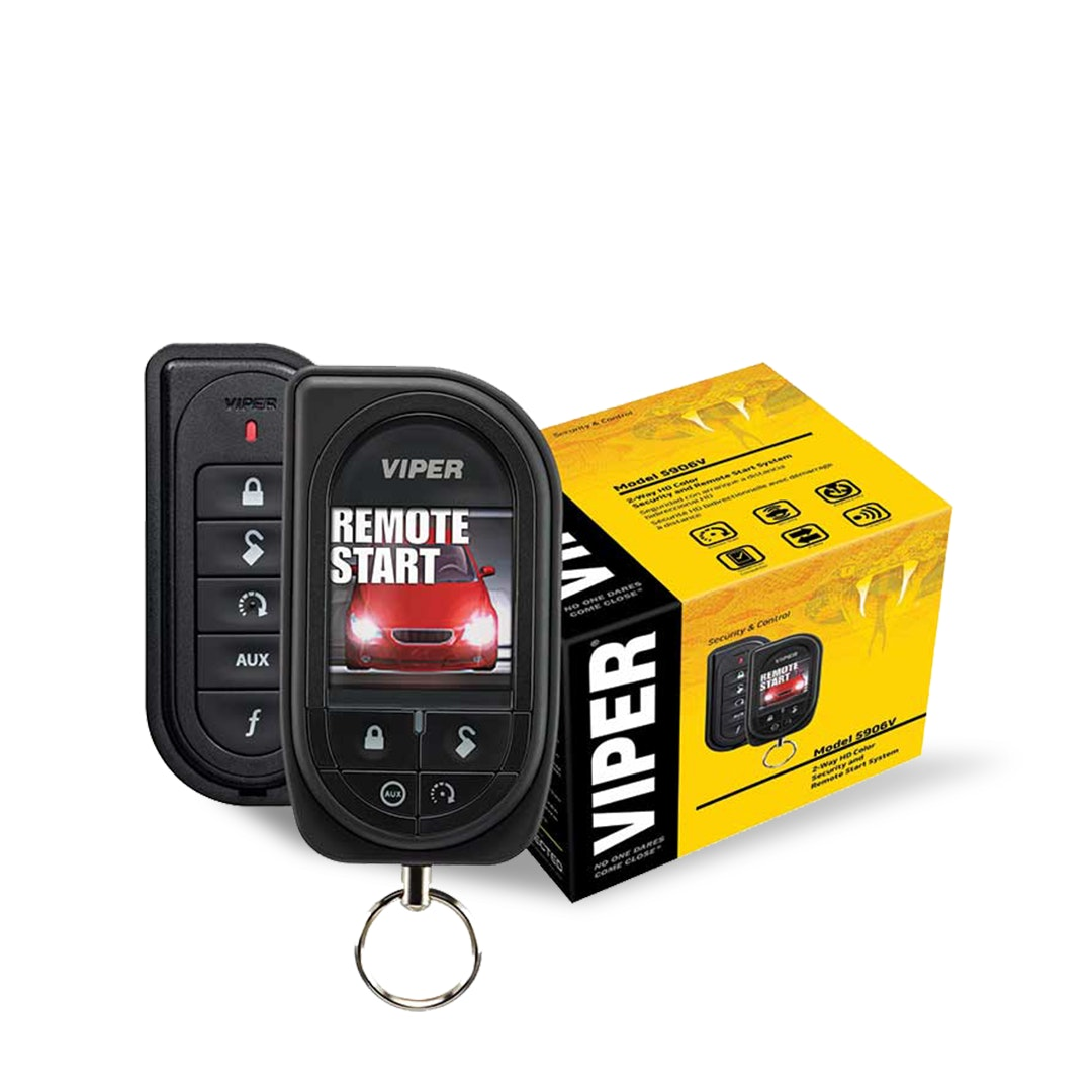Viper Color OLED 2-Way Security+Remote Start System