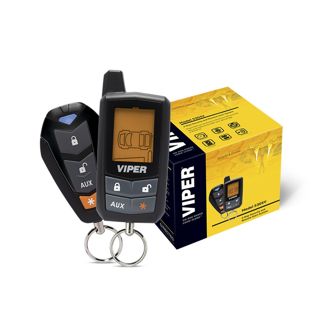 Viper LCD 2-Way Security & Remote Start System