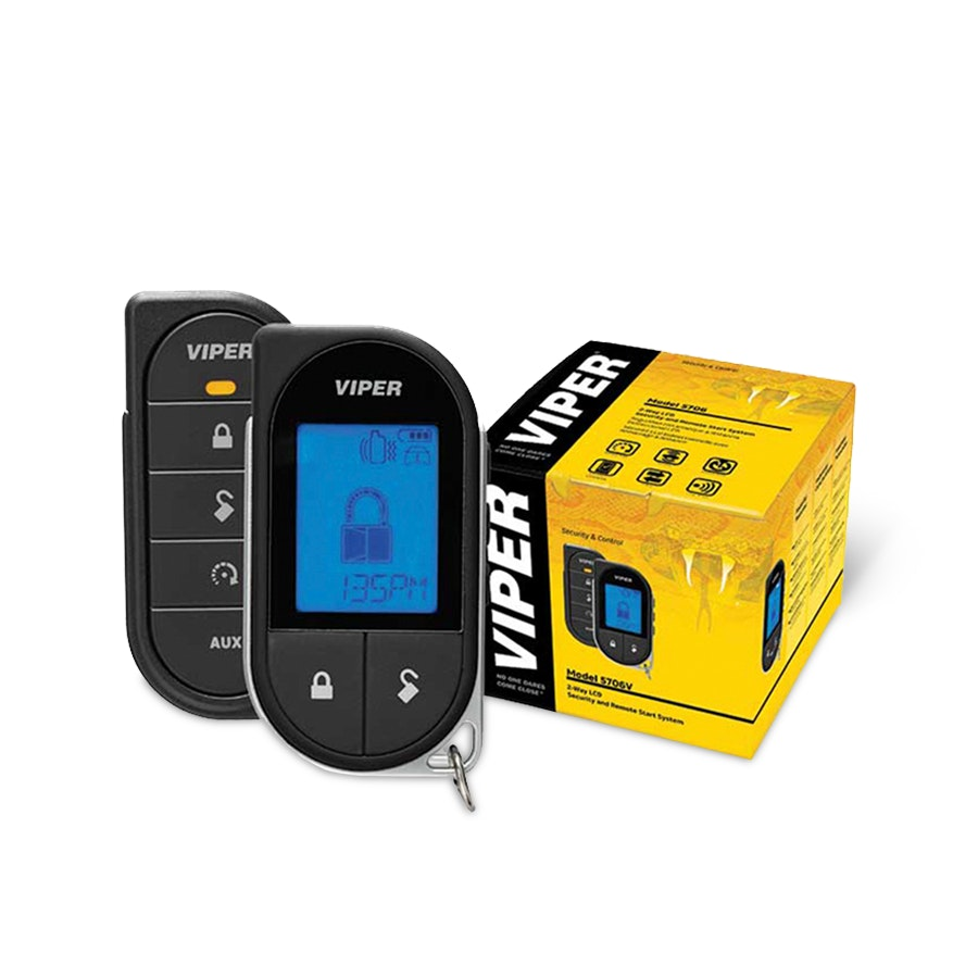 Viper LCD 2-Way Security + Remote Start System
