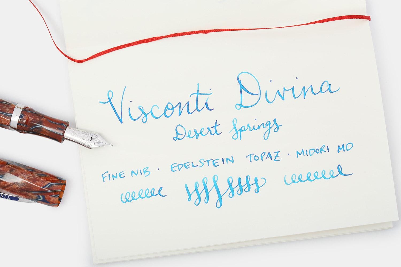 Visconti Divina Desert Springs Fountain Pen