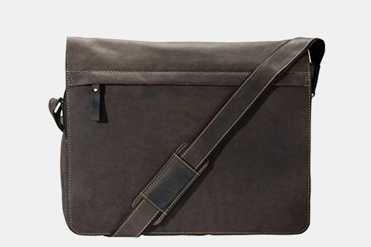 Visconti Foster Leather Laptop Messenger Bag