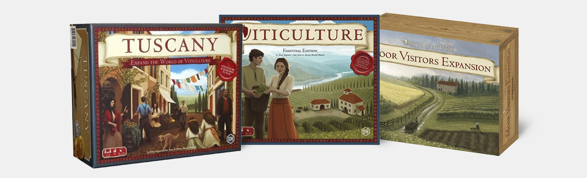 Viticulture Essential Edition Board Game Bundle