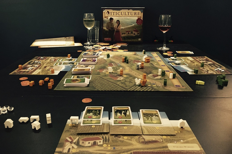 Viticulture Essential Edition Board Game Bundle