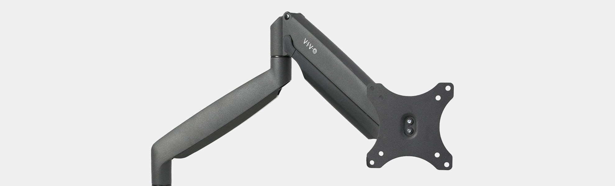 Vivo Aluminum Single Gas Spring Monitor Desk Arm