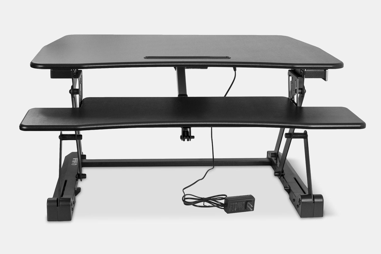 Vivo Electric Adjustable Sit/Stand Workstation