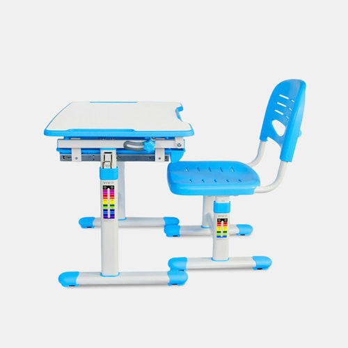Pleasing Vivo Height Adjustable Childrens Desk Chair Sets Gmtry Best Dining Table And Chair Ideas Images Gmtryco
