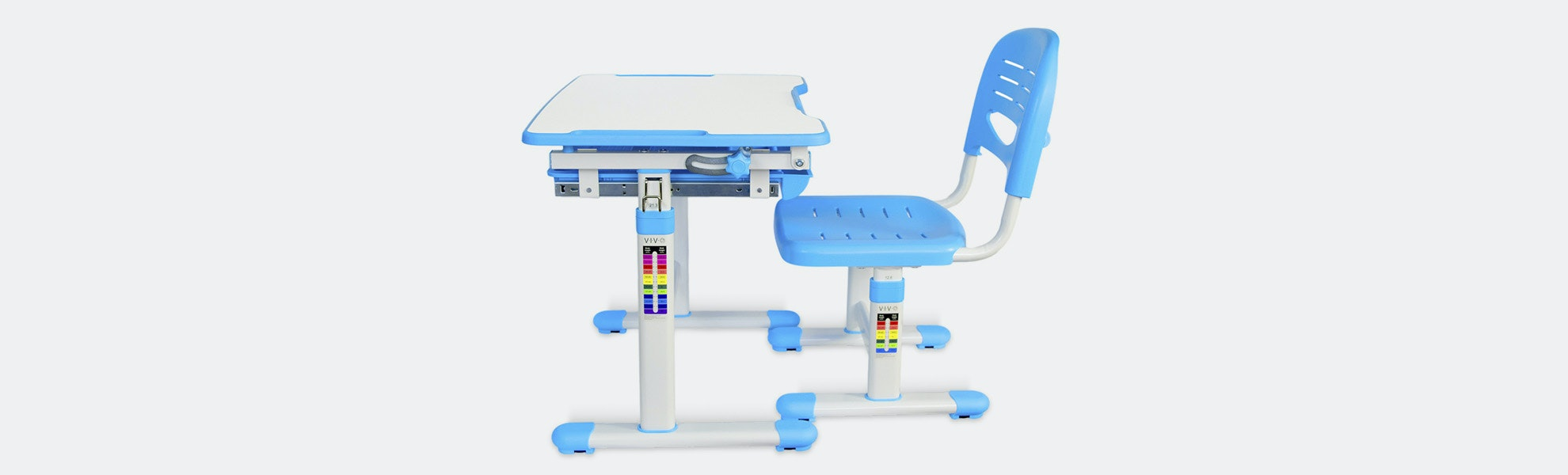 Vivo Height-Adjustable Children's Desk & Chair Sets