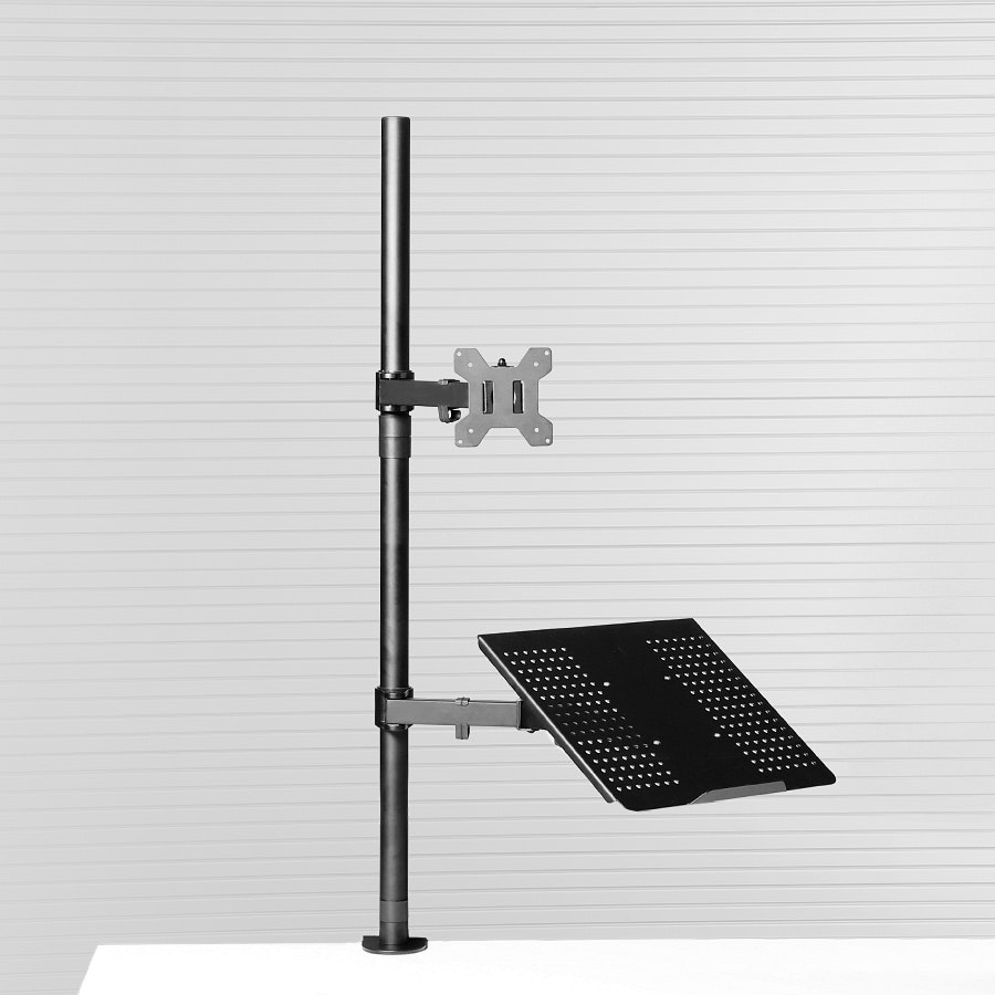 Vivo Laptop & LCD Sit/Stand Monitor Mount