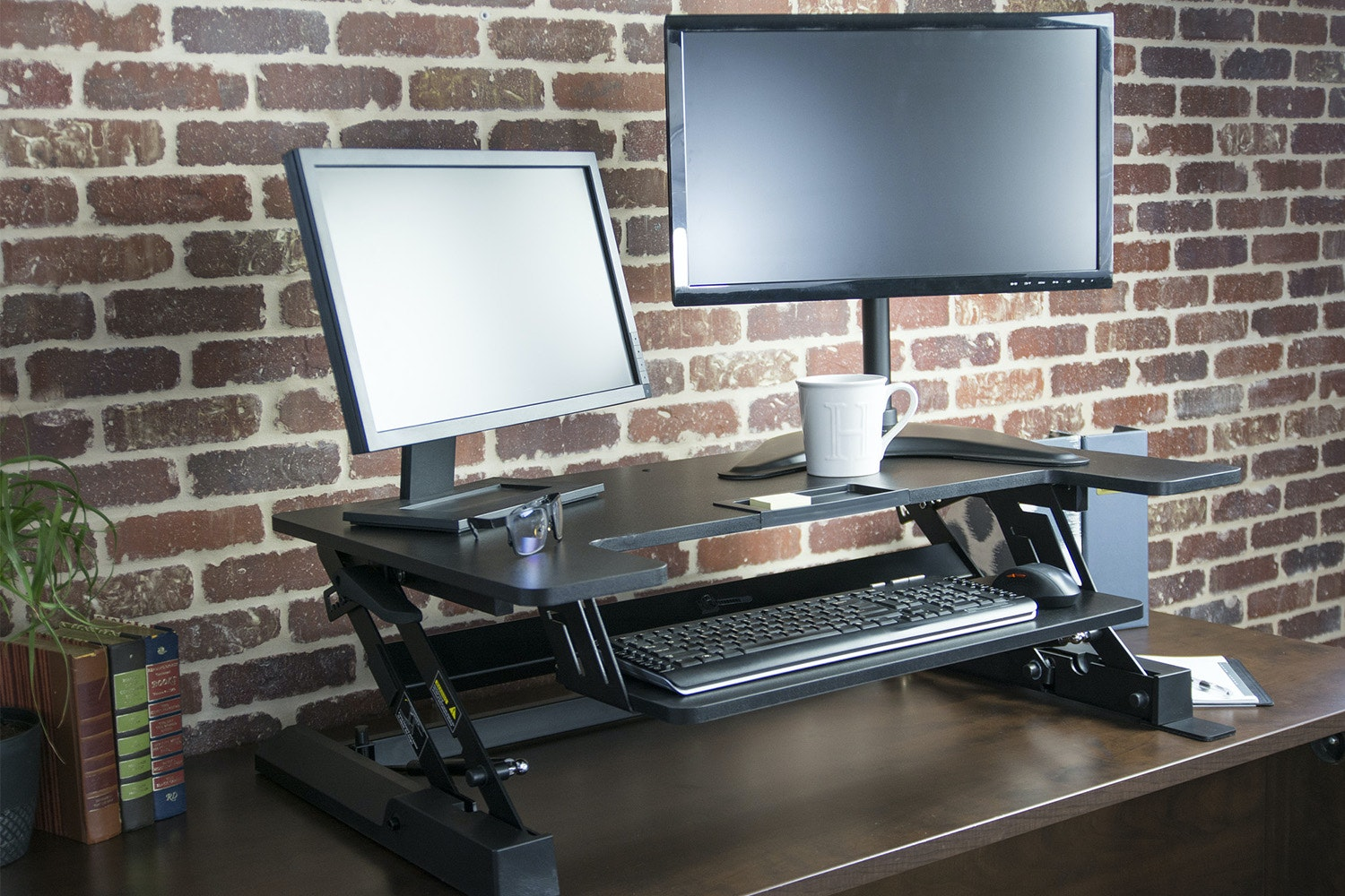 Vivo Tabletop Sit/Stand Workstation