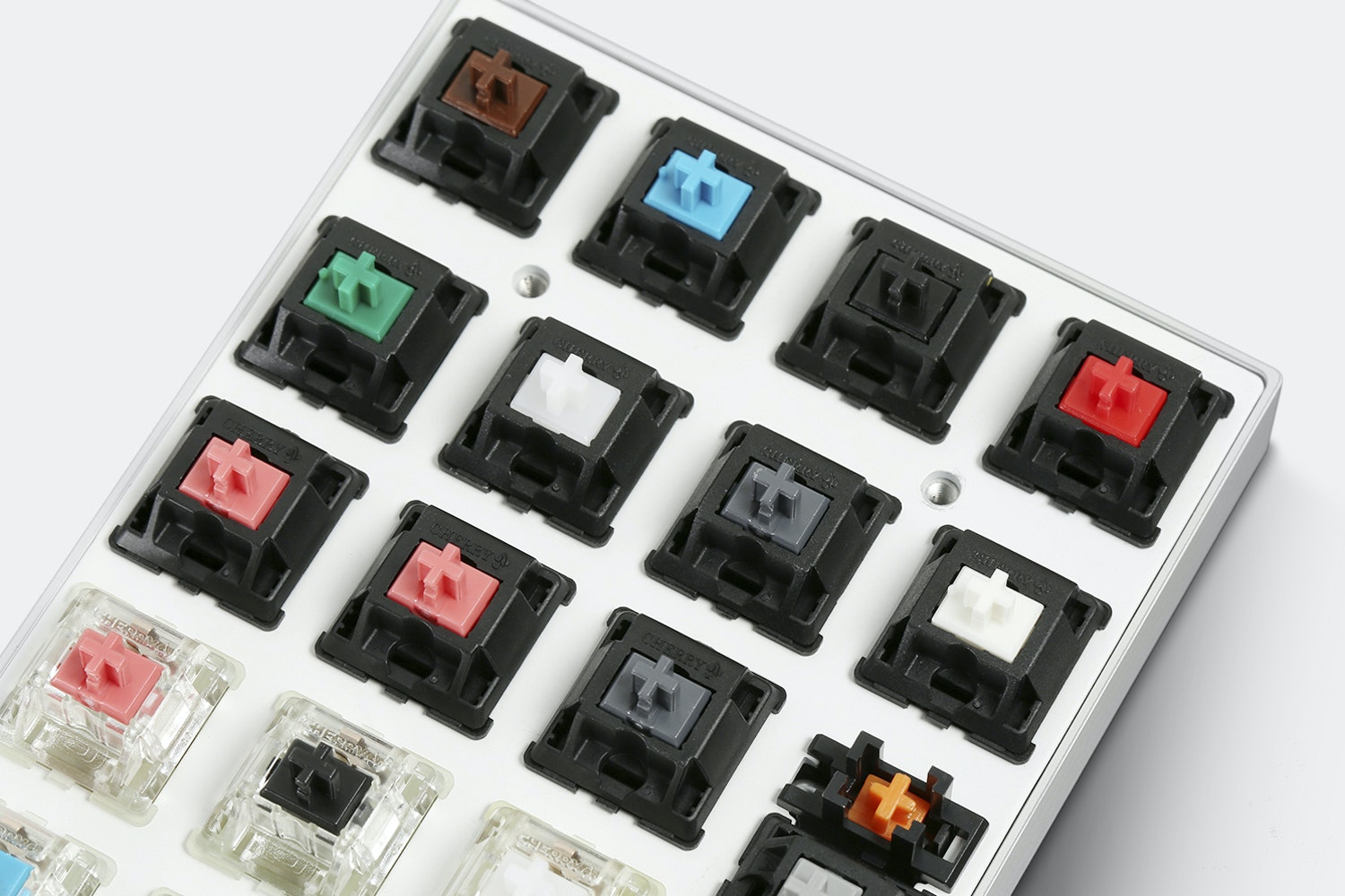 Vortex 22-Key DIY Switch Tester