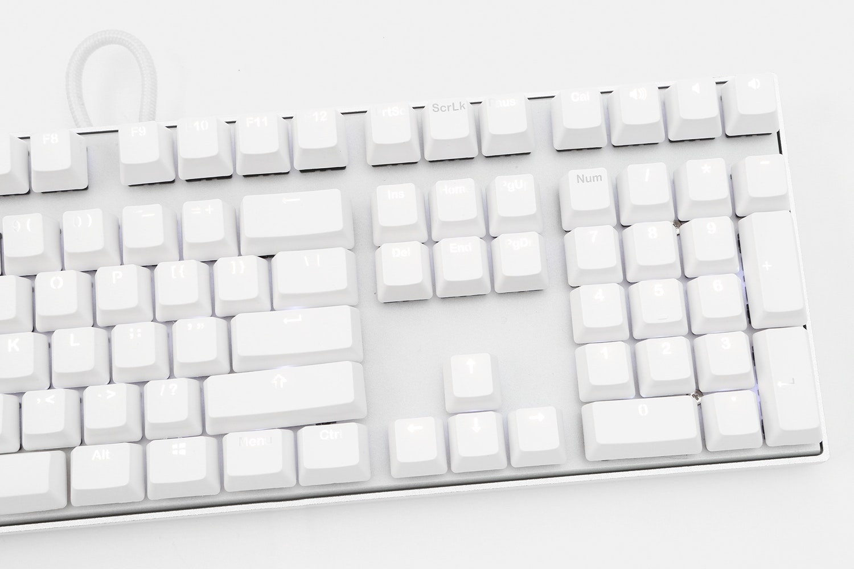 Vortex Backlit PBT Doubleshot Keycap Set