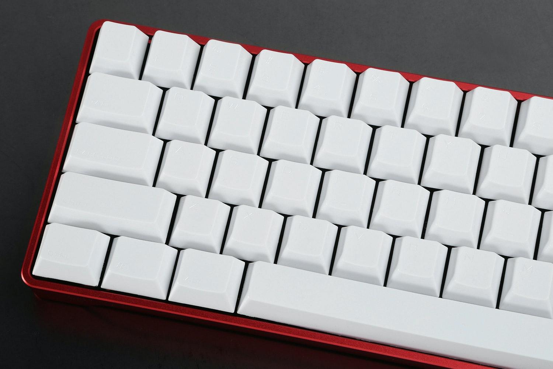 Vortex White PBT Keycap Set