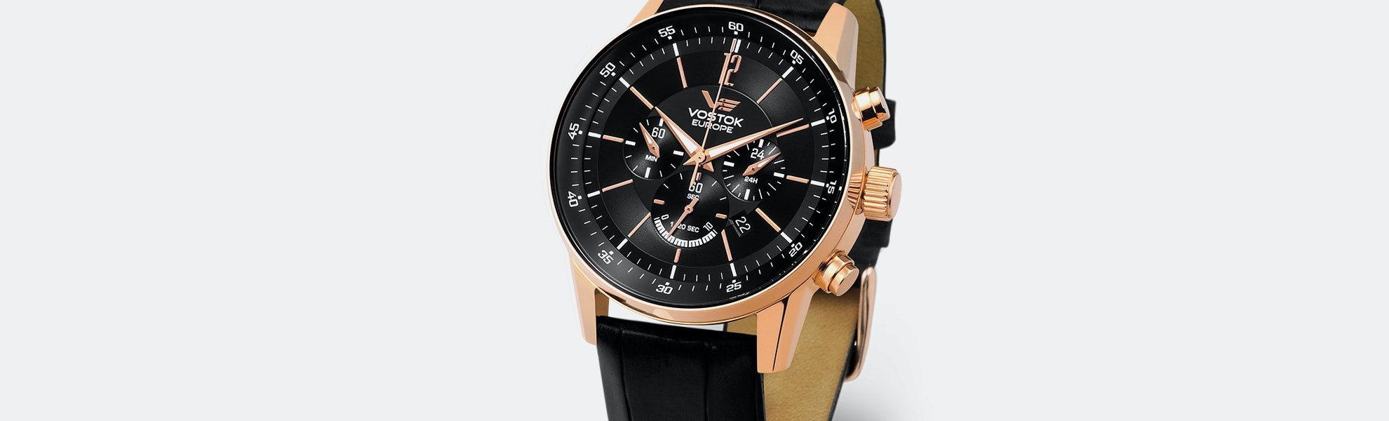 Vostok-Europe GAZ 14 Limo Quartz Chronograph Watch
