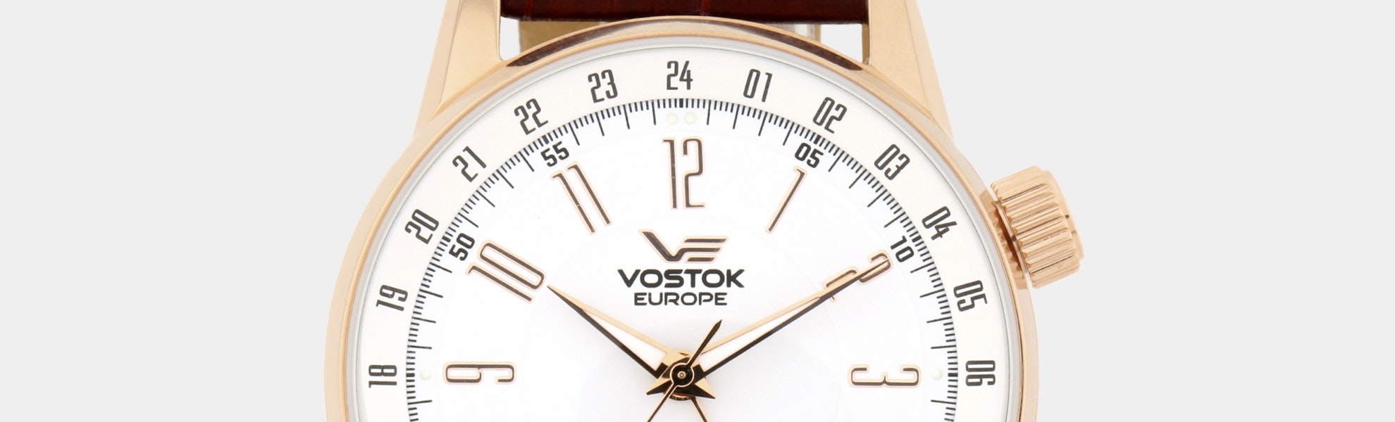 Vostok-Europe GAZ-Limo Dual Time Automatic Watch
