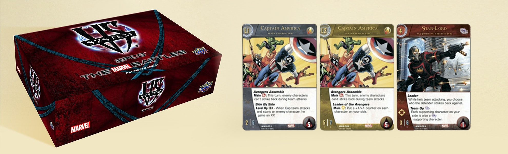VS. System 2 PCG: Marvel Set