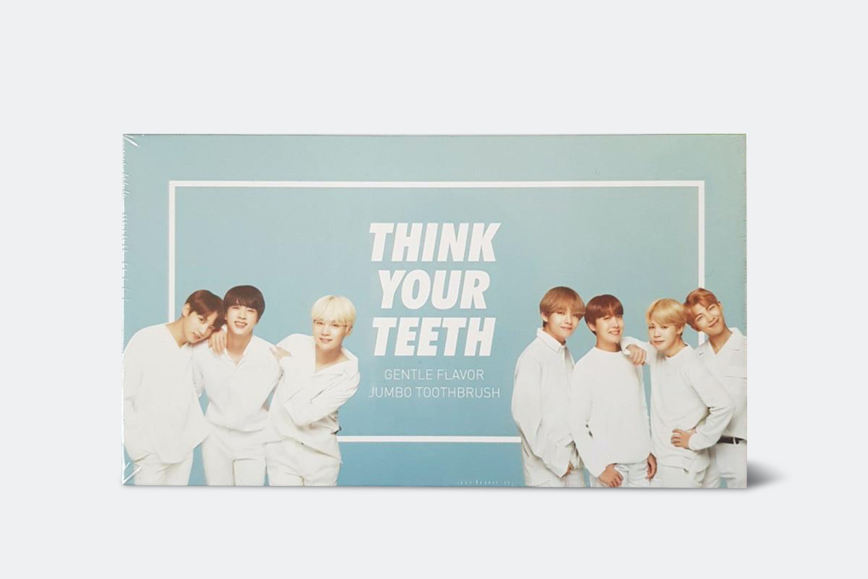 VT x BTS Toothbrush & Toothpaste Jumbo Set