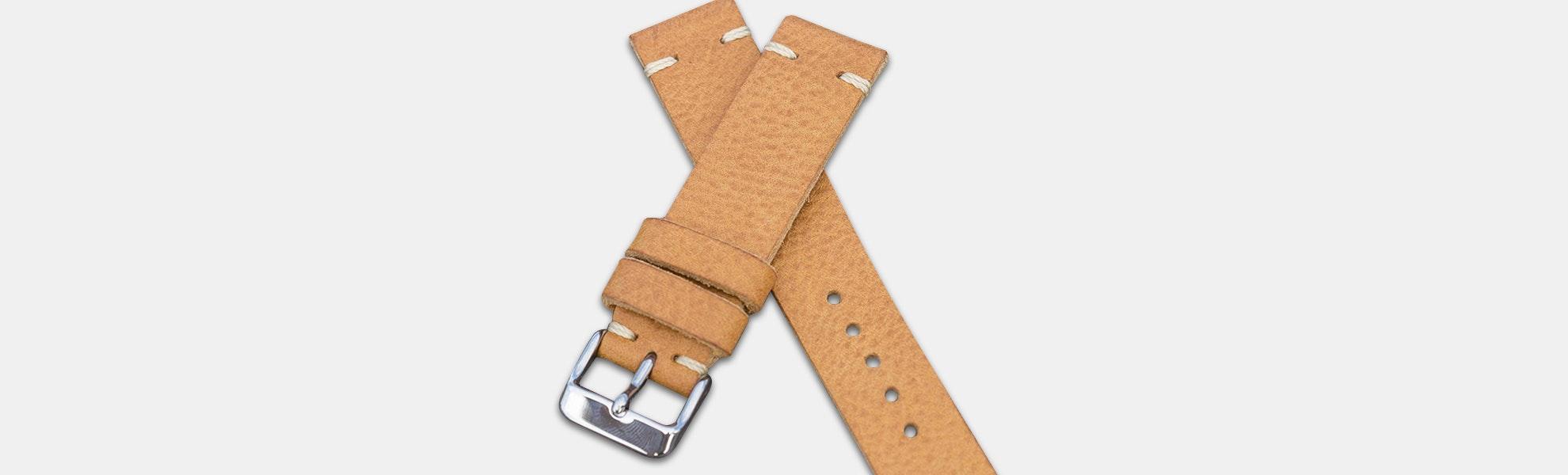 Vulture Premium Badalassi Carlo Leather Watch Strap