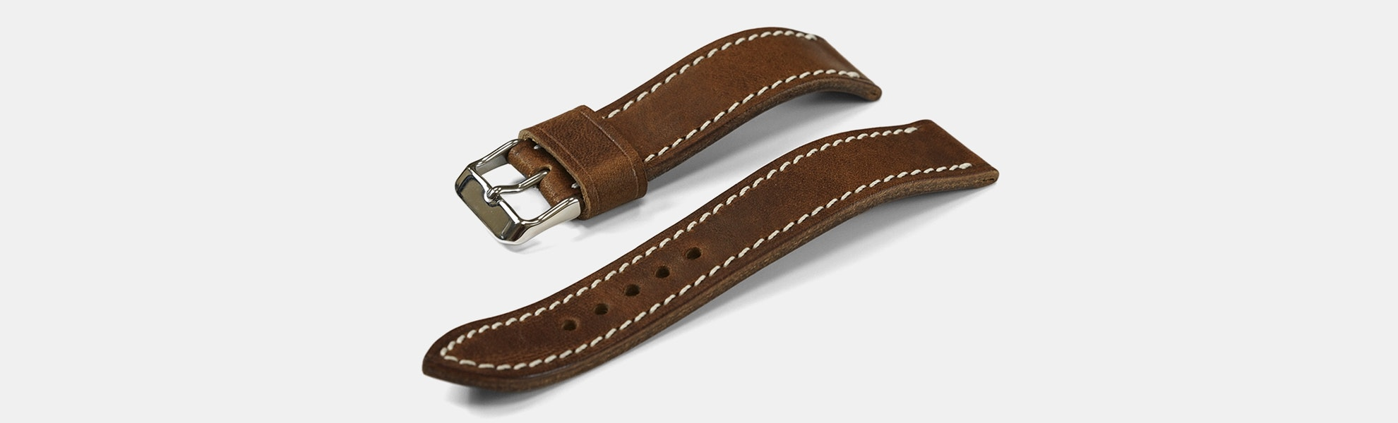 Vulture Premium Horween Derby Watch Straps
