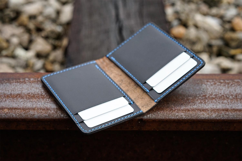 Vulture Premium Leather Vert Wallet