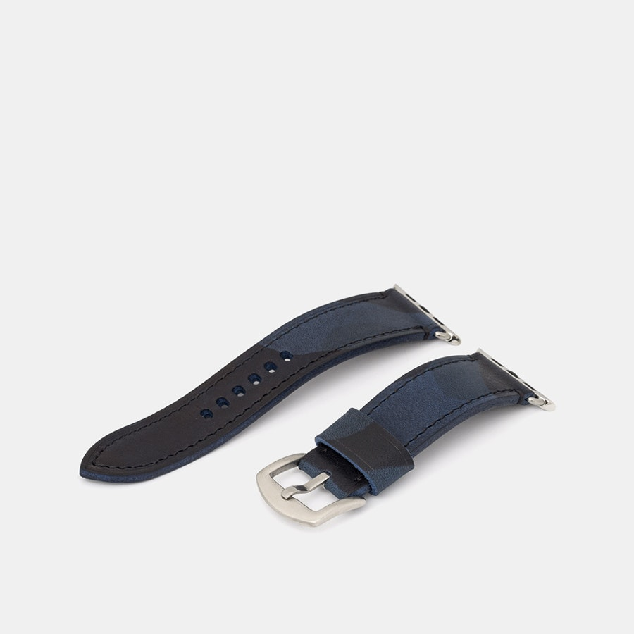 Vulture Premium Vachetta Camo Apple Watch Straps