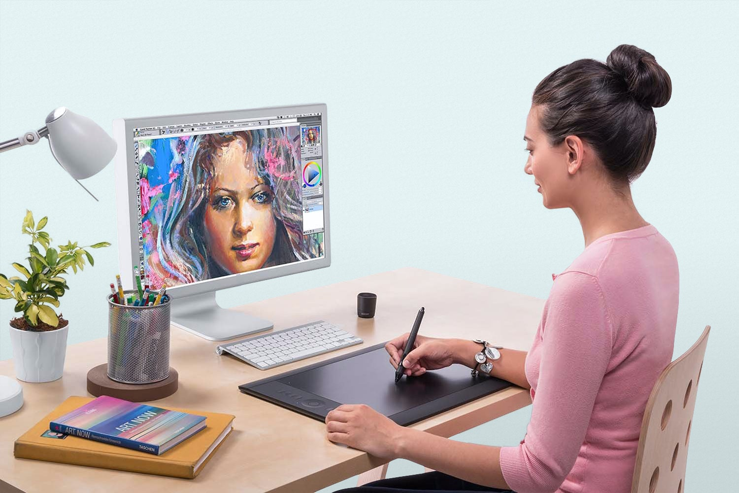 Wacom Intuos Pro Pen and Touch Tablet (Medium)