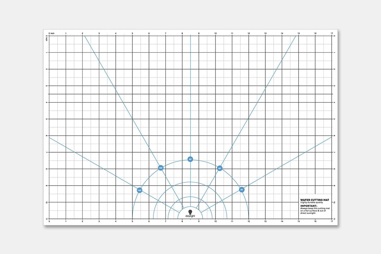 """Wafer 2 Cutting Mat (11"""" x 17"""") (+ $15.95)"""