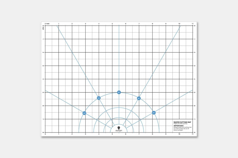 """Wafer 1 Cutting Mat (8"""" x 11"""") (+ $9.99)"""