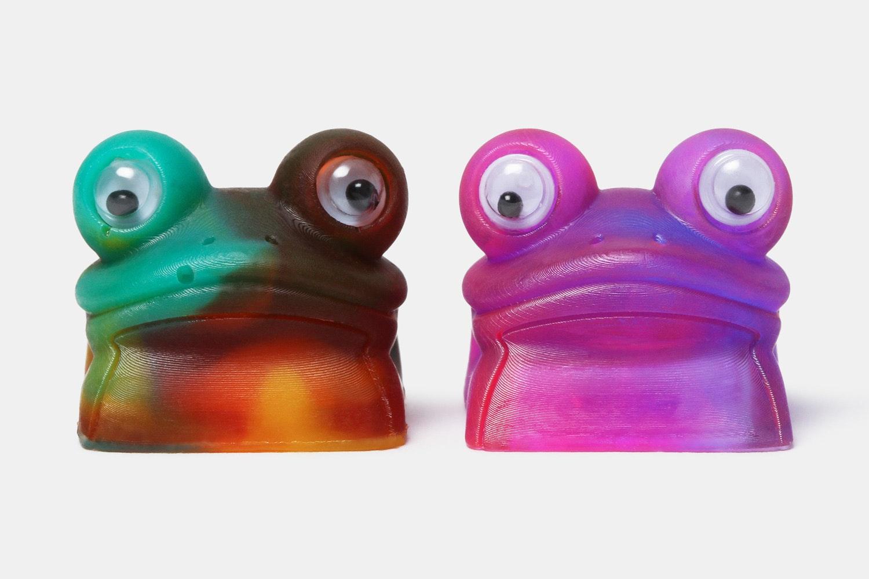 Waffle Key Studio Artisan Froggy Keycaps