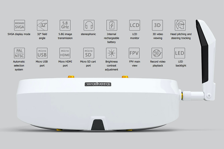Walkera Furious 320 1080p 5.8G FPV GPS Drone RTF