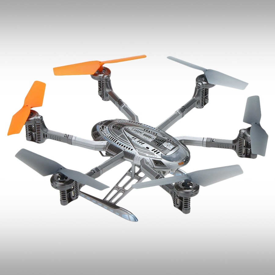 Walkera QR Y100 RTF Hexacopter w/Devo 4 Remote
