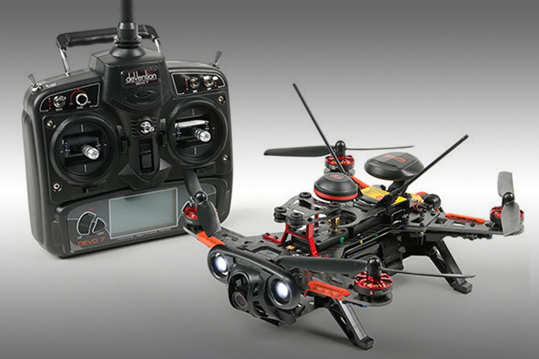 Walkera Runner 250 RTF GPSw/Devo7 Transmitter & OSD