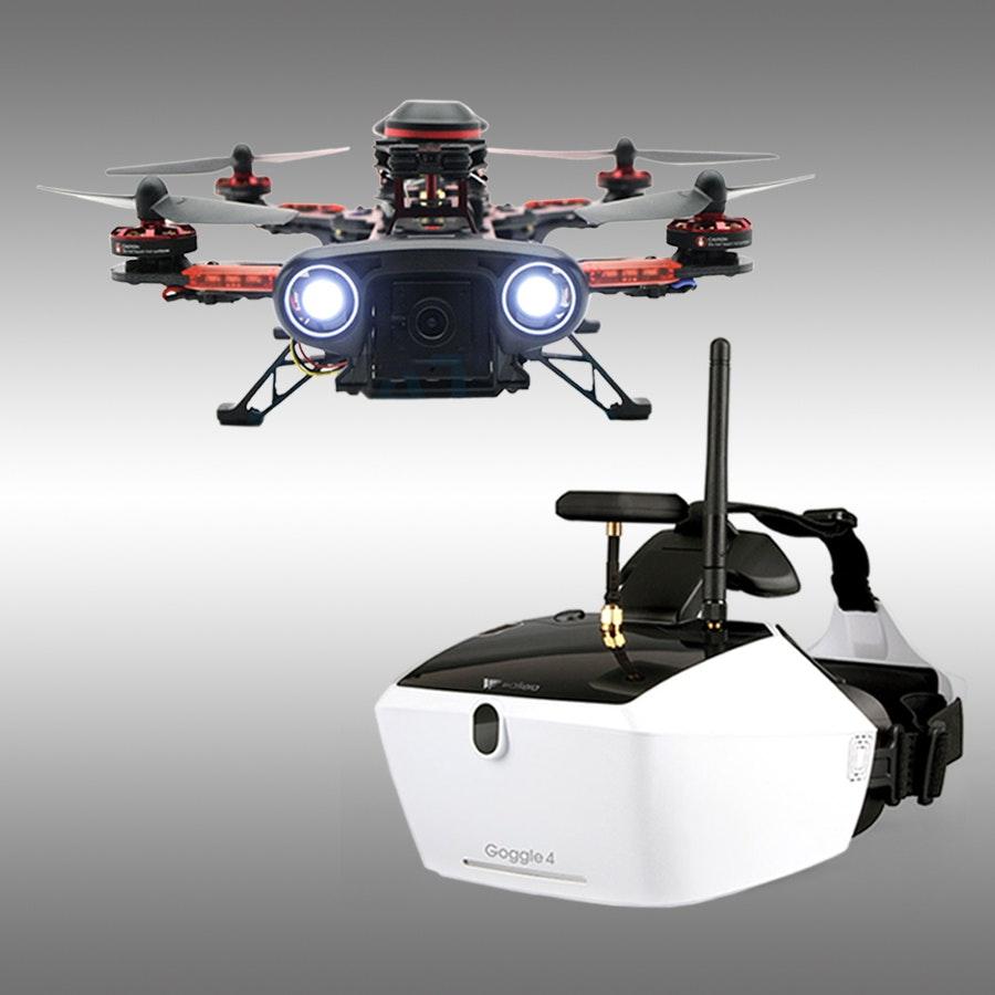 Walkera Runner 250 RTF/GPS w/ DEVO 7 & Goggle 4