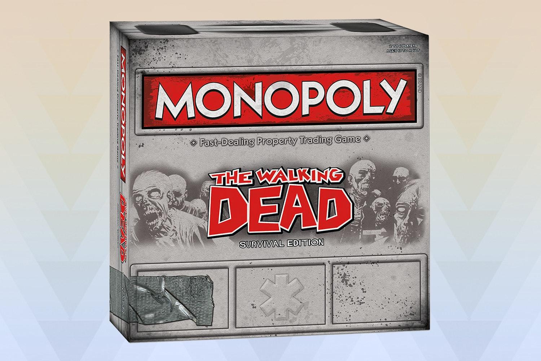 Walking Dead: Monopoly & Risk Board Game Bundle