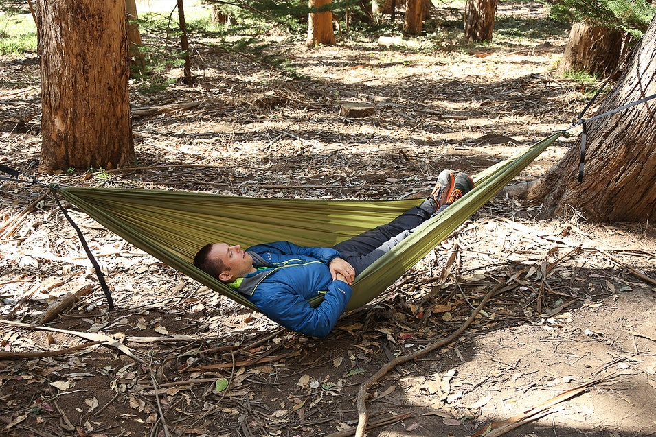 parachute hammock lime green travel relaxtribe set outdoor xl
