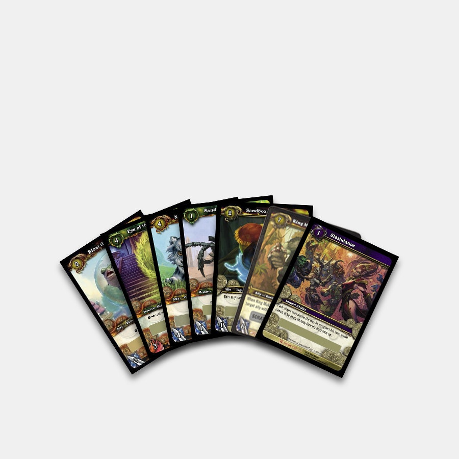 Warcraft Loot Cards Bundle