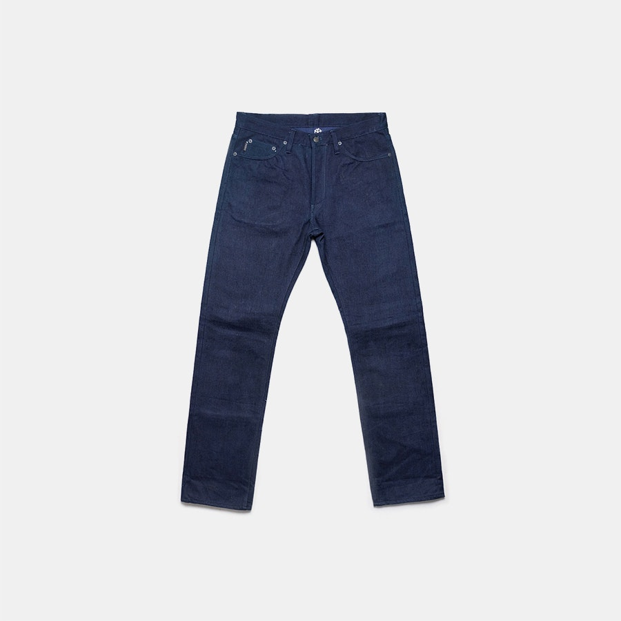 WARPWEFTco Indigo x Indigo Unsanforized Denim