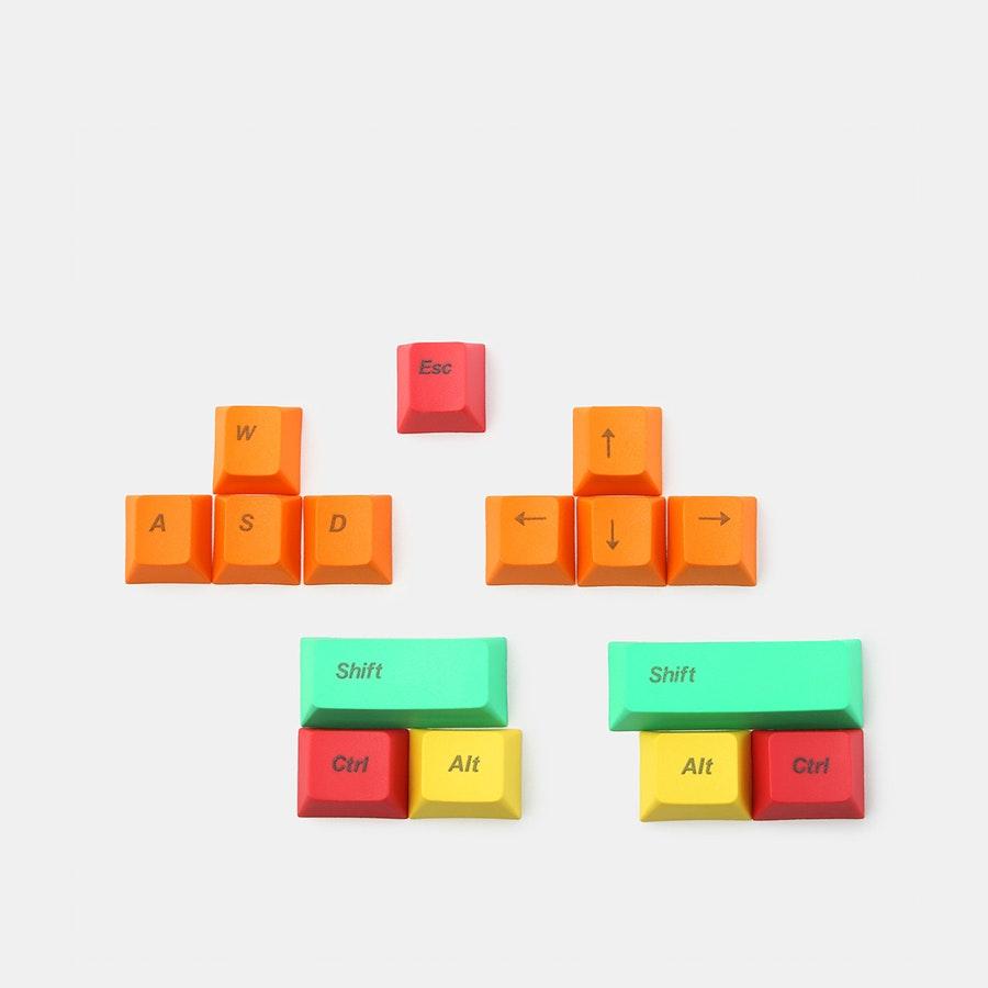 PBT Keycaps: WASD, Arrows & Modifiers