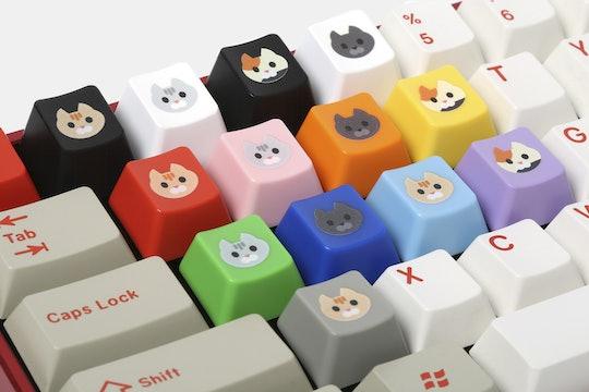WASD Keyboards Cherry Cat Novelty Keycaps (4-Pack)