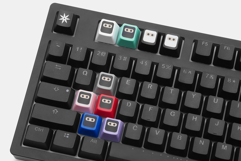 WASD Keyboard Ninja Novelty Keycaps (4-Pack)