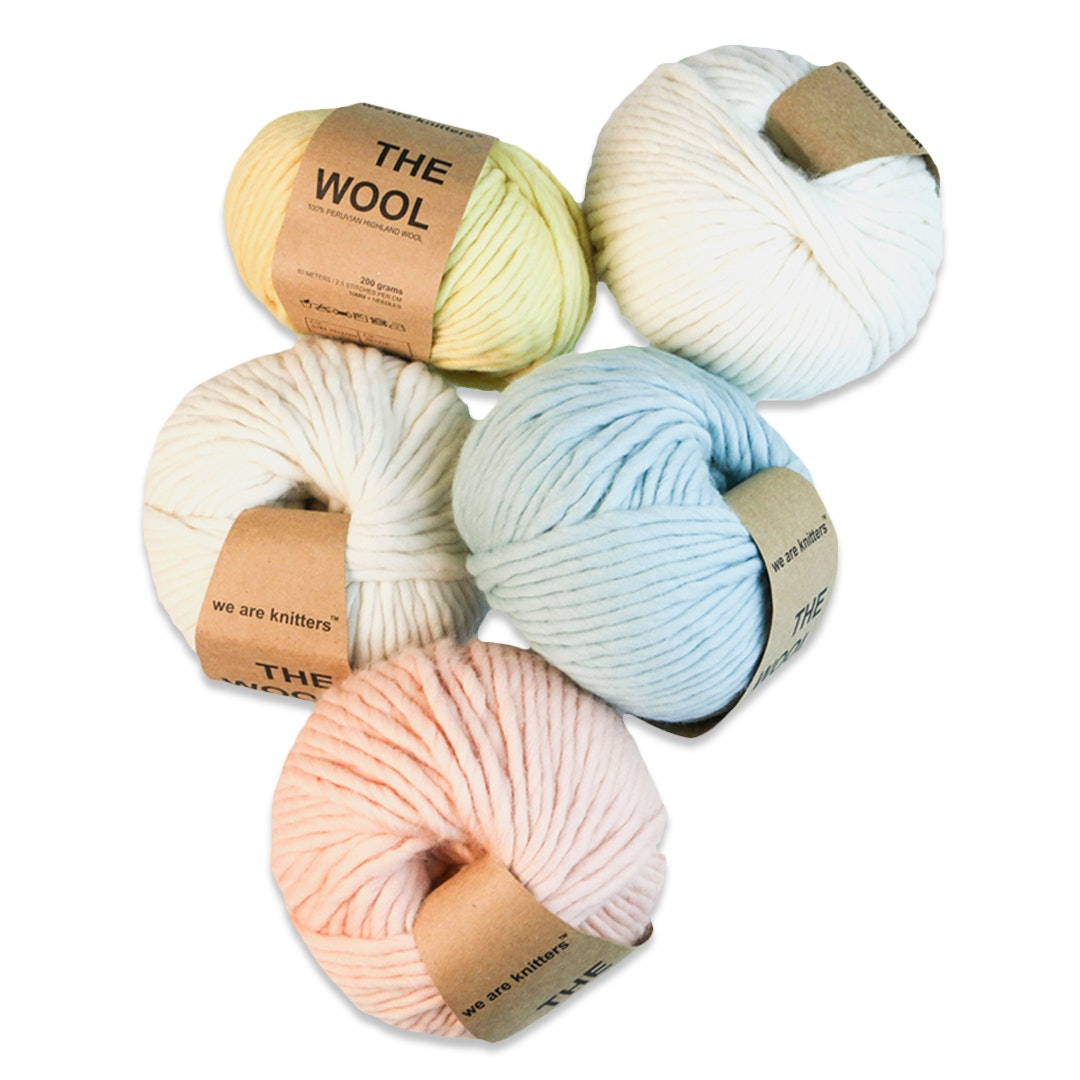 We Are Knitters Peruvian Wool Yarn Set