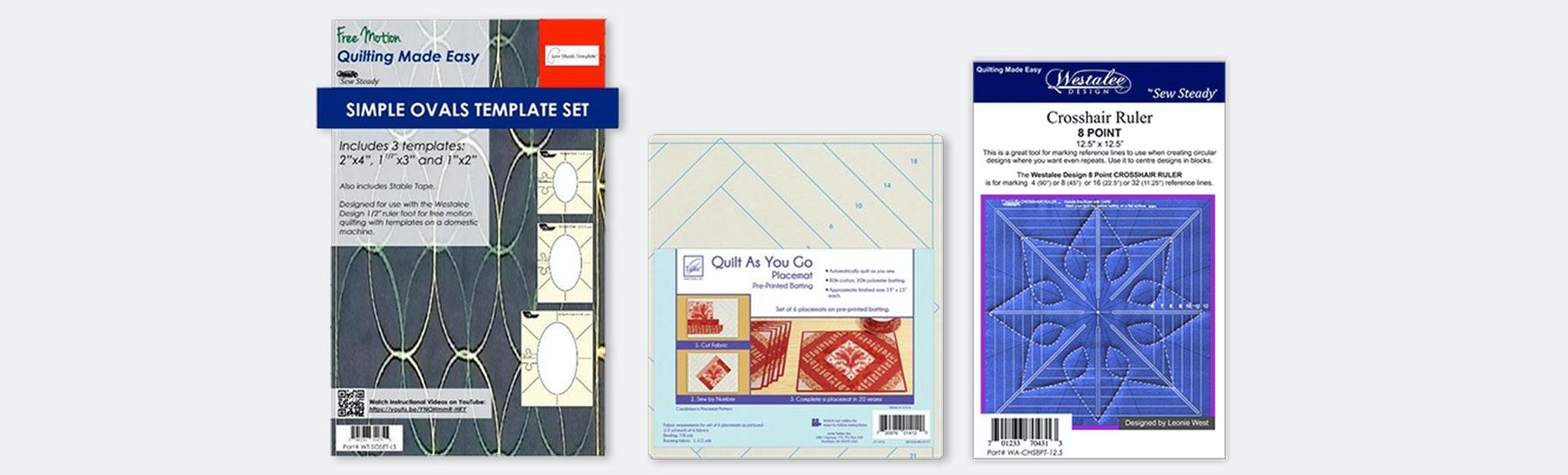 Westalee Ruler & Pattern Set