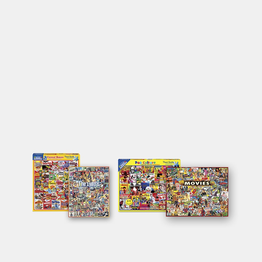 White Mountain Puzzles 1,000 Piece (4-Pack)