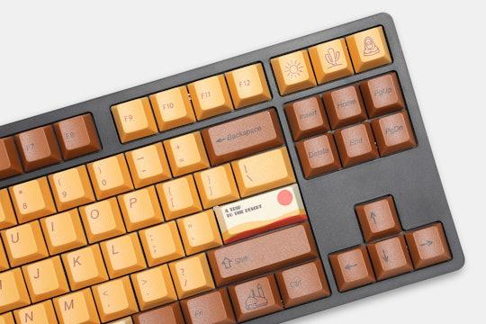 WIANXP Desert Journey Dye-Subbed PBT Keycap Set