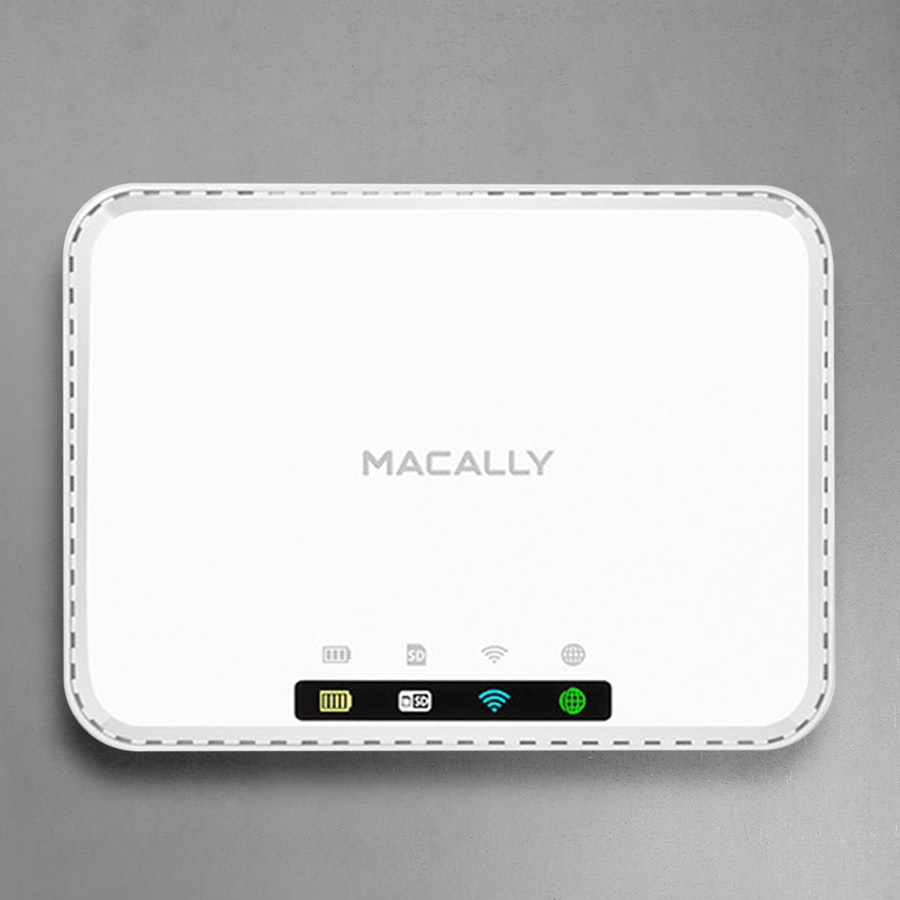 Macally Personal Media Hub & Travel Router