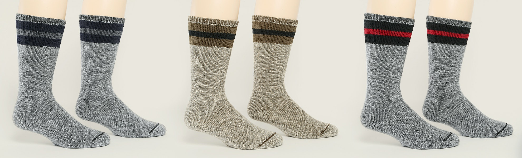 Wigwam American Wool Boot Socks (3-Pack)