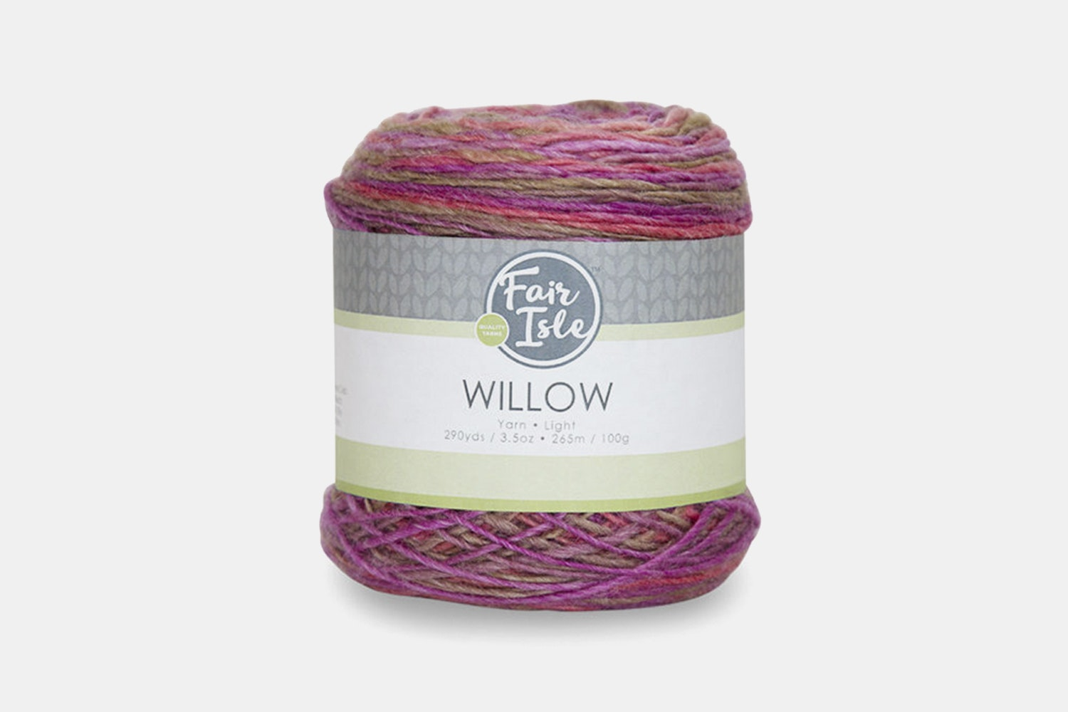 Willow Yarn by Fair Isle (2-Pack)