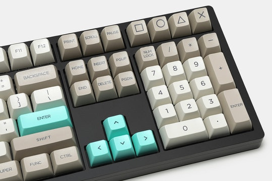 WinMix Retro Beige SA Dye-Subbed Keycap Set