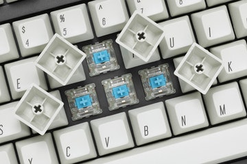 WinMix Retro Beige Uniform SA Keycap Set